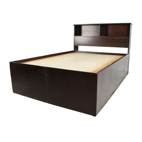 captains bed with bookcase headboard 56 furniture furniture captains