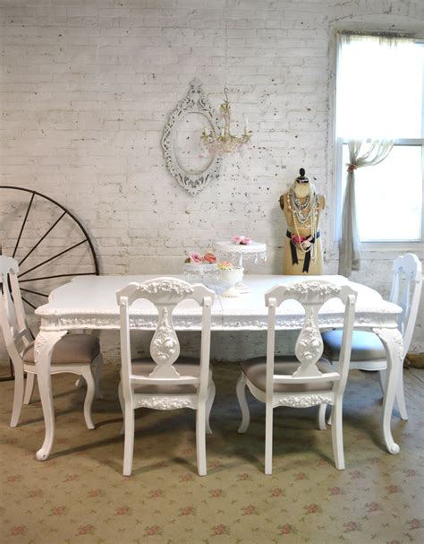 painted dining table painted cottage dining table
