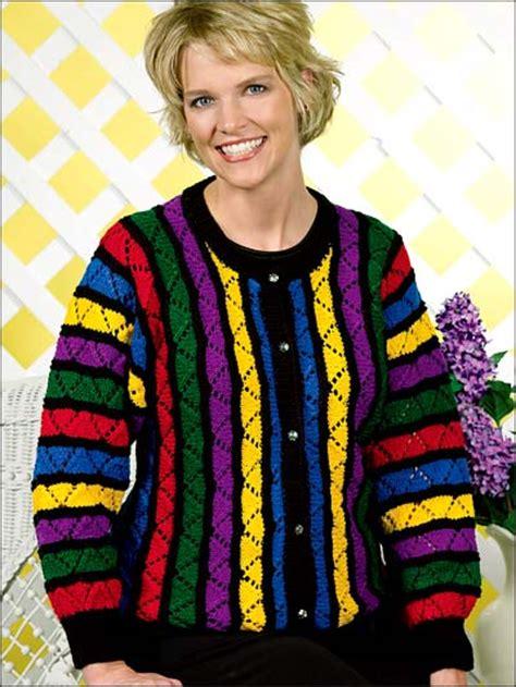 free knitting patterns for jackets knitting cardigans jackets rainbow lace jacket
