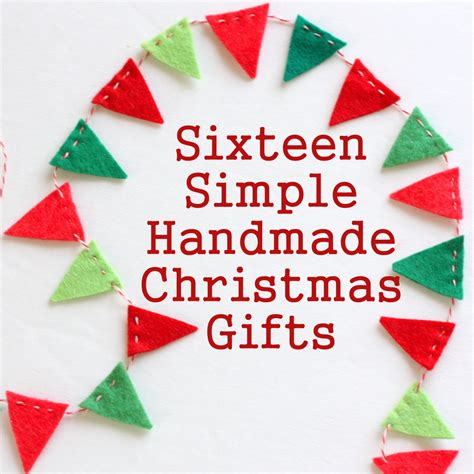 crafts for to make as gifts 16 simple handmade gift tutorials diary of a