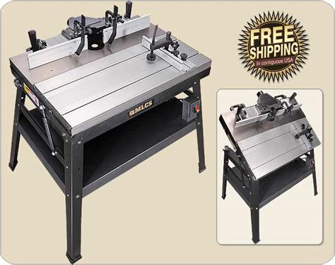 mlc woodworking mlcs heavyweight and precision router tables
