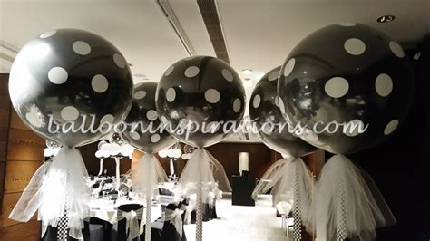 black and white decorations black and white themed balloon decorations