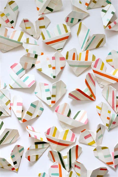 tiny origami hearts 8 favorite last minute valentines 183 kix cereal