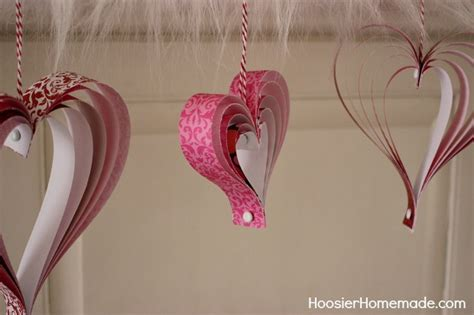 paper craft hearts s craft how to make paper hearts hoosier