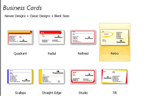make business cards on word create a business card in word 2007 best business cards