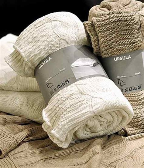 ikea cable knit throw ikea ursula knitted cable throw soft cotton blanket