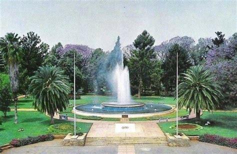 Garden Bulawayo The In Centenary Park Bulawayo Rhodesia