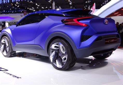 Toyota C Hr Concept by Toyota C Hr Concept Previews Future Subcompact Crossover