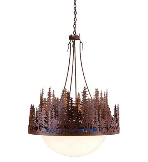 tree chandelier pine tree chandelier