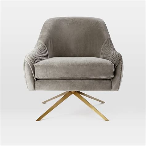 swivel c chair roar rabbit swivel chair west elm