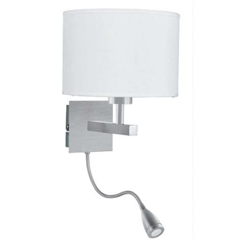 wall reading lights bedroom hotel style bedroom wall light with adjustable led arm in