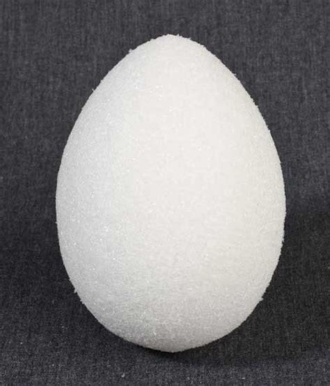 styrofoam egg crafts for 4 3 4 quot white styrofoam egg styrofoam basic craft