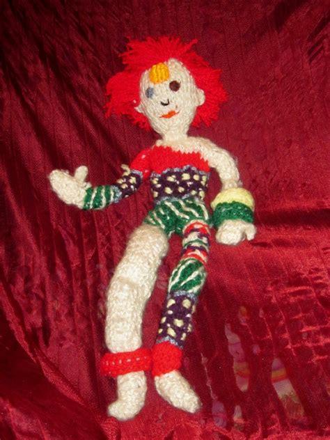 david bowie knitting pattern ziggy stardust knit doll by selahjanel on deviantart