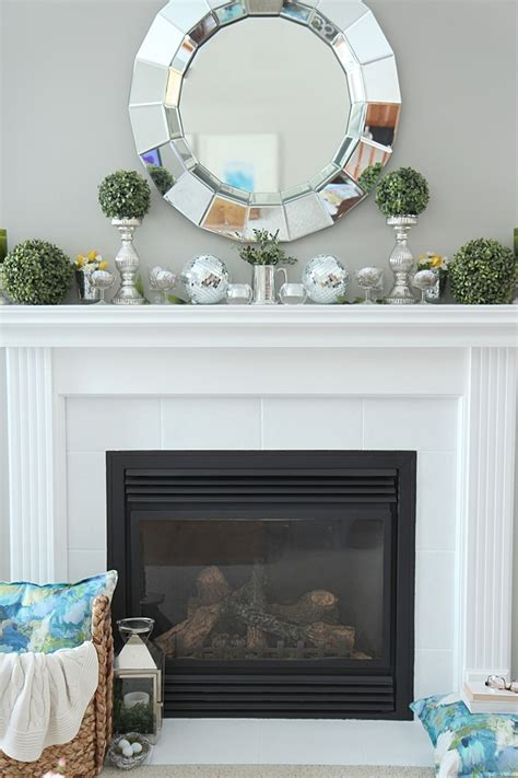 mantle decor mantel ideas decor and projects setting for four