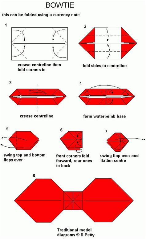 how to make a origami bow best photos of pattern origami bow origami bow tutorial