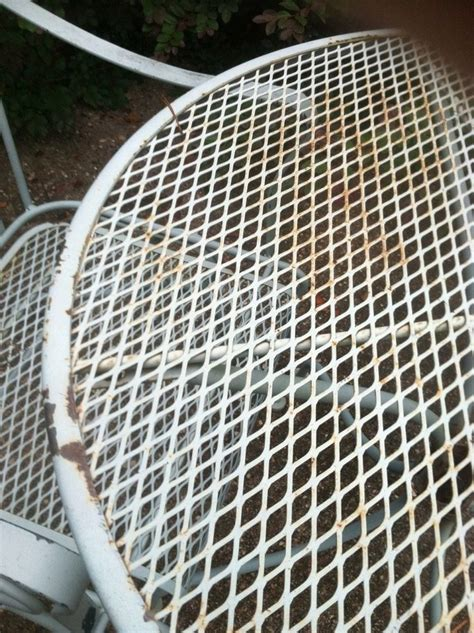repainting outdoor metal furniture 25 best ideas about metal patio furniture on