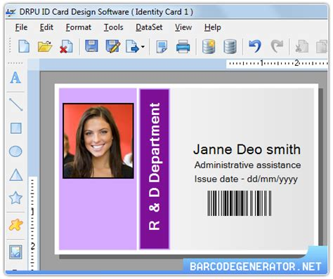 i card machine employee id cards maker windows 7 screenshot