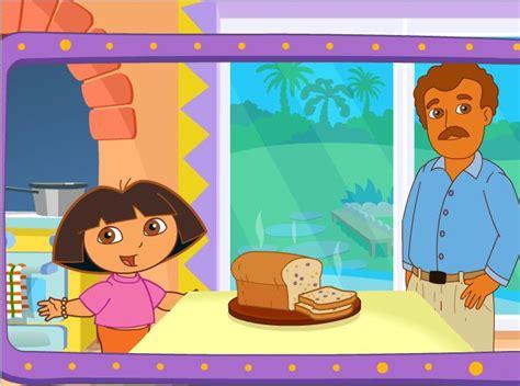 juegos de dora cocinando con su papa cocina con dora la exploradora juegos infantiles