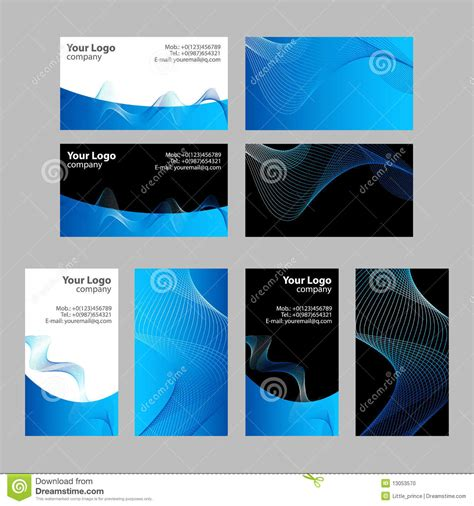 how to make front and back business cards in word business cards templates front and back stock photo