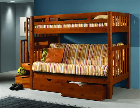 bunk bed frame with futon astonishing bunk bed with futon on bottom atzine