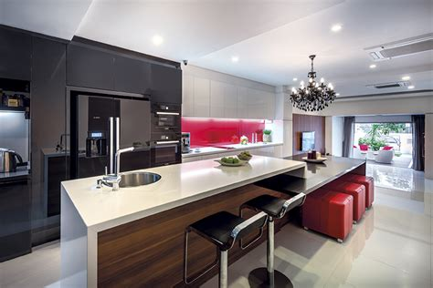 Space For Kitchen Island 14 kitchen island designs that fit singapore homes