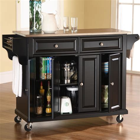 kitchen island with casters best kitchen island on casters homesfeed