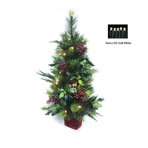soft white tree lights barcana 71301030h76b 30 quot leaves half tree with