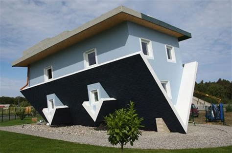 design house inside out inverted house designed inside out