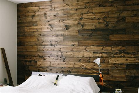 wooden wall bedroom diy and how to wooden wall in our bedroom