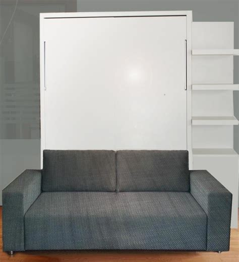 wall beds with sofa wall bed with sofa gloss finish ultra light vancouver