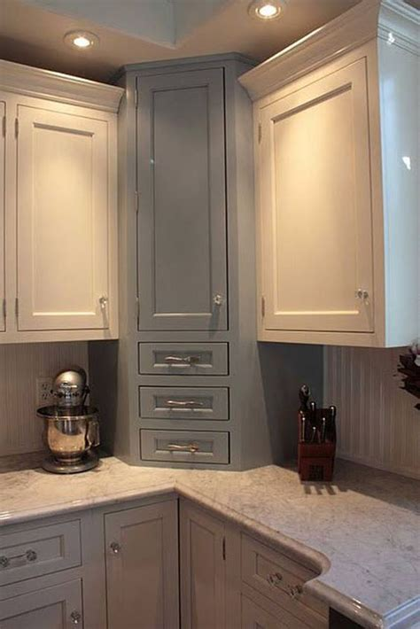 corner cabinets for kitchen 20 practical kitchen corner storage ideas shelterness