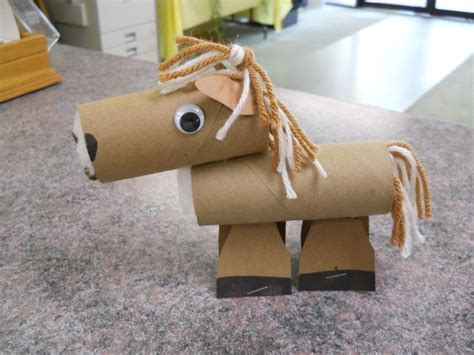 tissue paper roll craft toilet paper roll stuffed with cotton balls