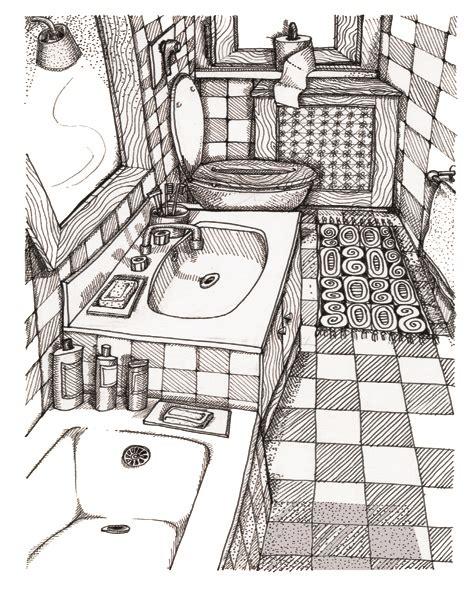 bathroom drawing bathroom drawing www pixshark images galleries