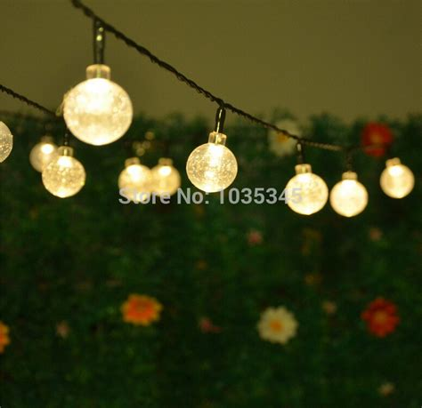how to string lights on outdoor trees 20 led solar powered outdoor string lights