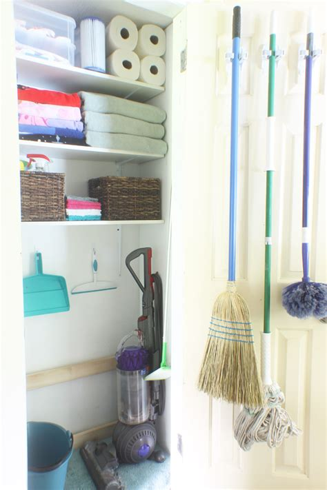 cleaning closet ideas cleaning closet organizing ideas