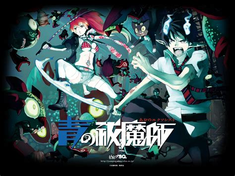 ao no exorcist exorcist ao no exorcist wallpaper 25134499 fanpop