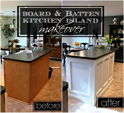 kitchen island makeover 21 rosemary board batten kitchen island makeover