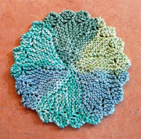 circular knitting patterns free free lace dishcloth knitting pattern patterns