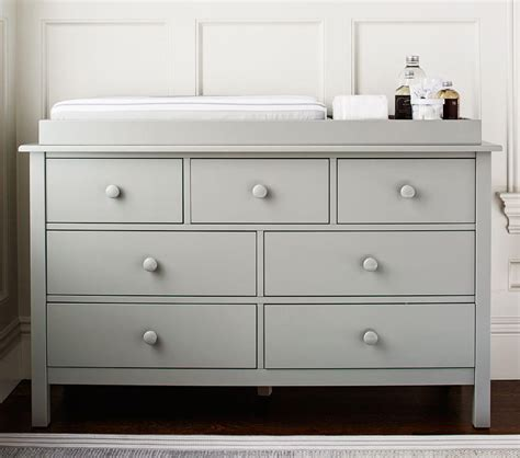 kendall wide dresser changing table topper