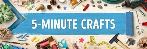 5 minute crafts for 5 minute crafts amazingpost