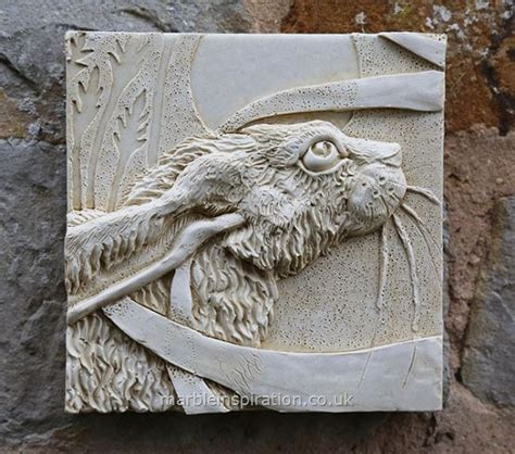 garden wall plaques hare wall tile right garden wall plaque garden wall