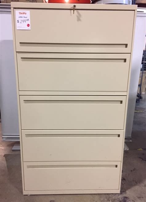 five drawer lateral file cabinet 36 quot w five drawer lateral file cabinet 120116a thrifty