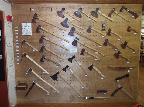 highlands woodworking highland woodworking s new ax display