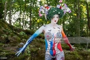 world bodypainting festival world bodypainting festival 2015 getty images