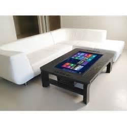 touch screen coffee table coffee table touchscreen computer unizmos