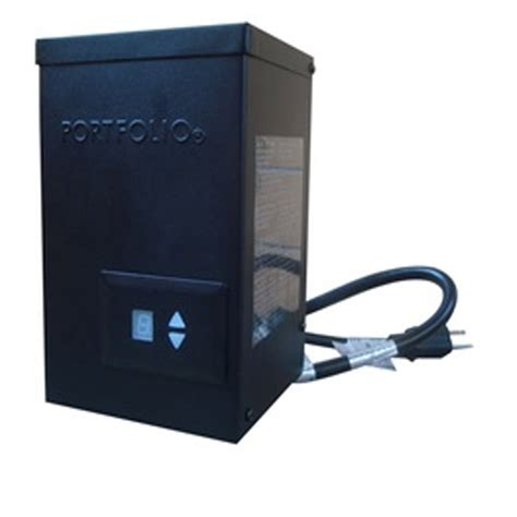 landscape light transformer shop portfolio 300 watt 14 volts multi tap transformer