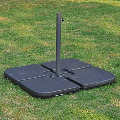 offset patio umbrella base weights outsunny 4 offset patio umbrella base weight set