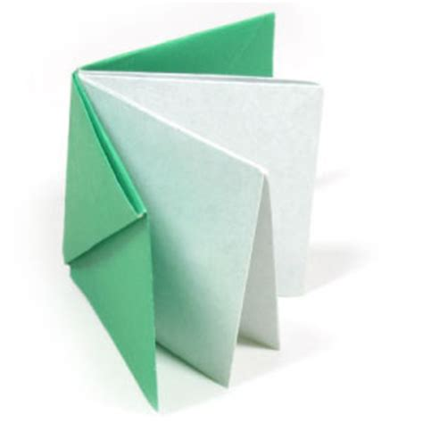 how to do book origami how to make an easy origami book page 1