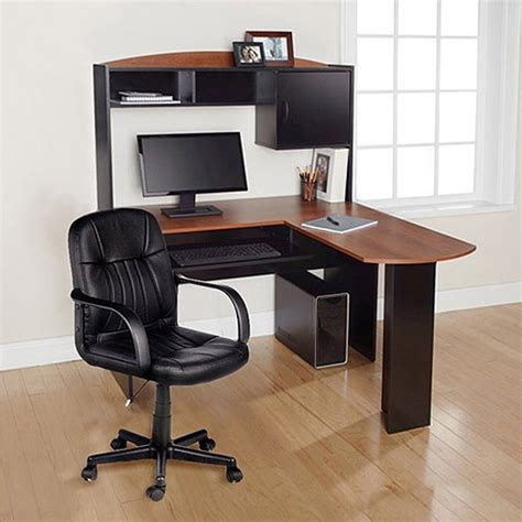 corner desk for home office computer desk chair corner l shape hutch ergonomic study