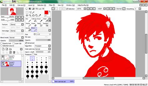 paint tool sai screen paint tool sai and karkat by someonewhodoodles on deviantart